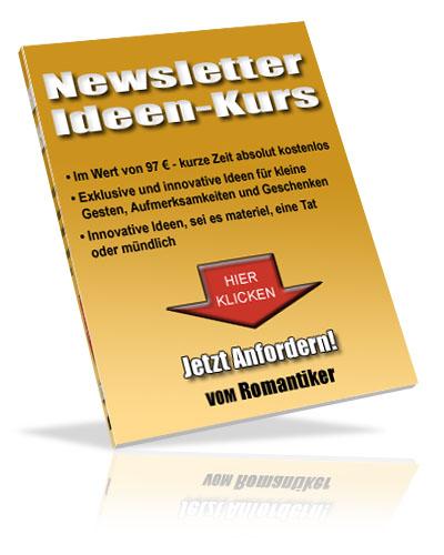 Newsletterkurs romantische Ideen